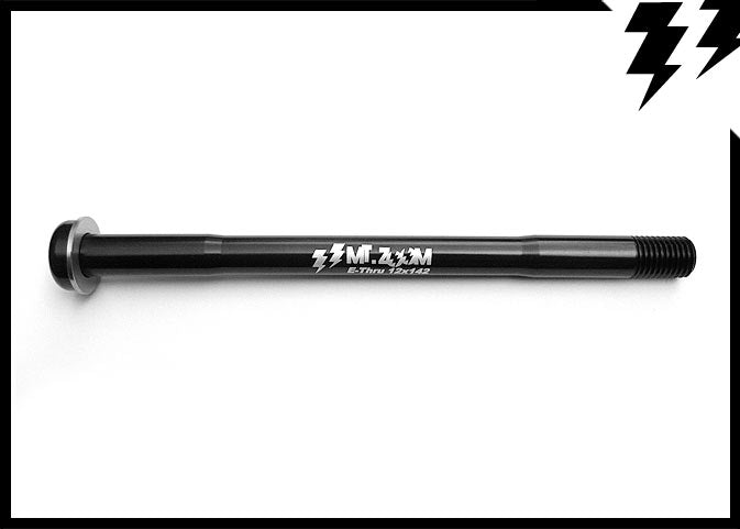 SHIMANO E-THRU REAR AXLE 12 X 142mm(axle) X 1.5MM L.170.5mm 39G (T6)