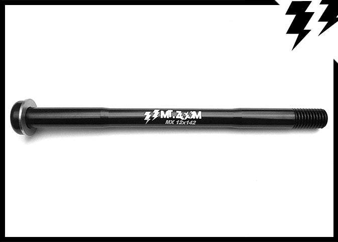 MAXLE REAR THRU AXLE 12mm X 142mm(axle)/172.5mm(length) X 1.75MM 39G (T8)