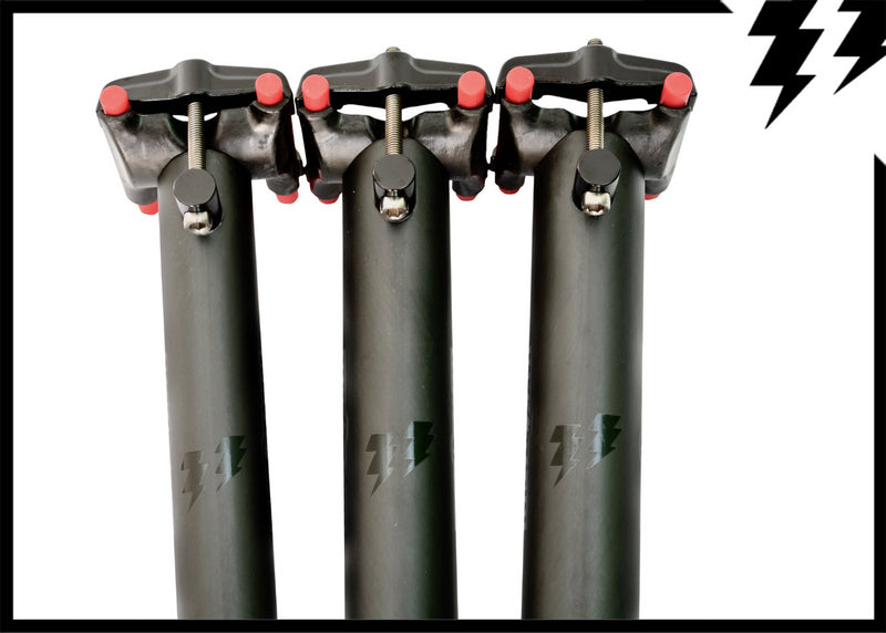 ULTRALIGHT STRAIGHT/INLINE CARBON SEATPOSTS