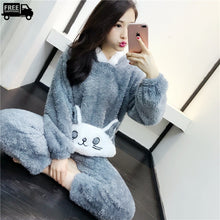 Load image into Gallery viewer, Cute Cartoon Pajama Set Casual Loungewear & Sleepwear
