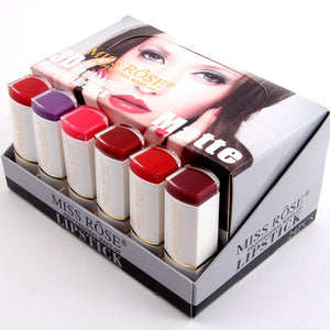 Set of 6 All Day Creamy Miss Rose Matte Lipstick