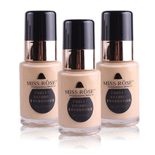Load image into Gallery viewer, Miss Rose Natural Liquid Foundation Base Makeup