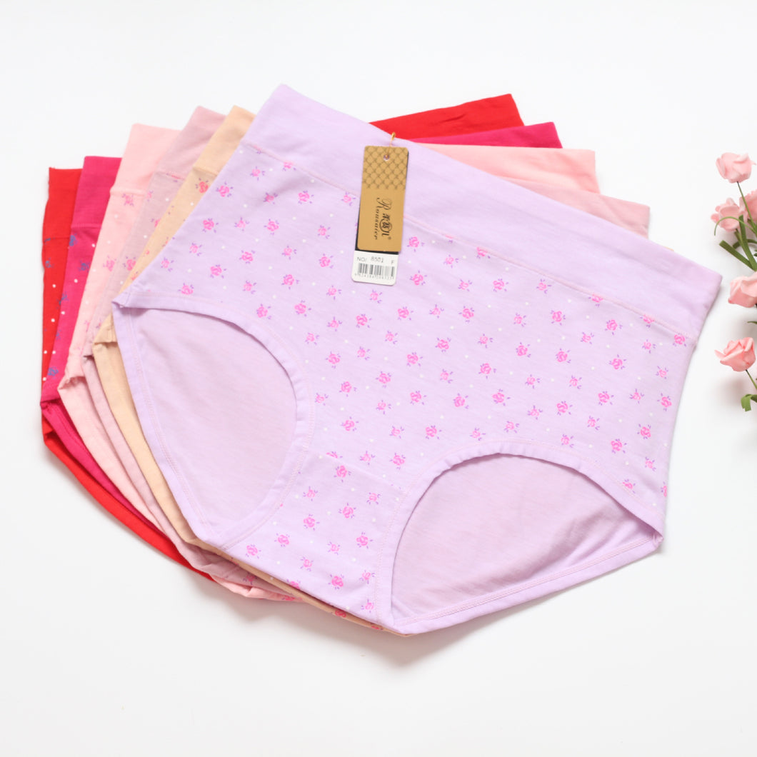 Pack of Cotton Stretch Hipster Panties Underwear