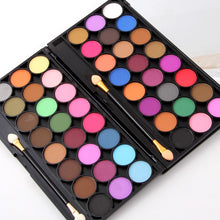 Load image into Gallery viewer, Miss Rose 24 Color Eyeshadow Palette Highly Pigmented