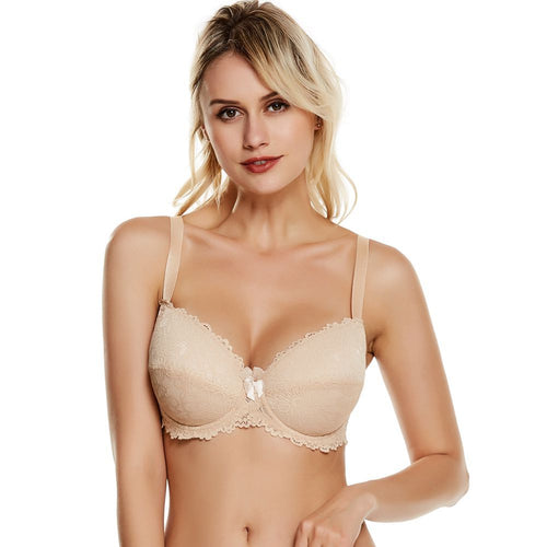 Push Up Thin Padded and Wired Bra