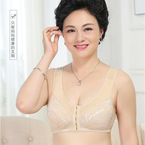 Wirefree Non Padded Front Hooks Nursing Bra