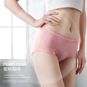 Pack of Lace Trim Brief Cotton Panties