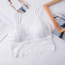 Load image into Gallery viewer, Women's Lace Tops Floral Vest Bra Blouses