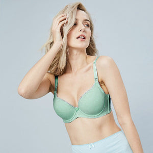 Full Bust Seamless Nursing Maternity Bras with Extender