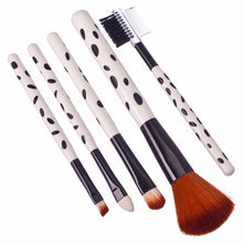Load image into Gallery viewer, Makeup Brush Set for Eyeshadow, Eyelash, Blush, and Lips, Set of 5