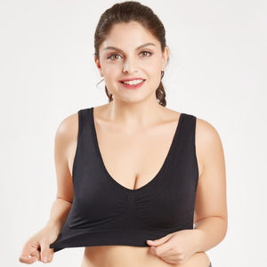 Women's Seamless Comfortable Bra with Removable Pads