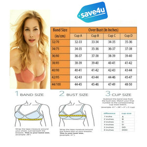 Polka Print Non Padded Wireless Bra For Women