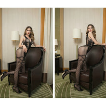 Load image into Gallery viewer, Fishnet Bodystocking for Womens Black