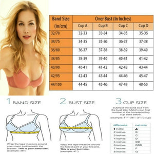Lace Front Closure Padded Push up Bra Set