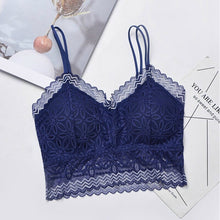Load image into Gallery viewer, Pack of Removable Pads Lace Floral Bralette Vest Tank