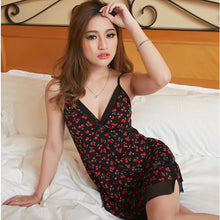 Load image into Gallery viewer, Printed Short Nightgown Sleepwear for women