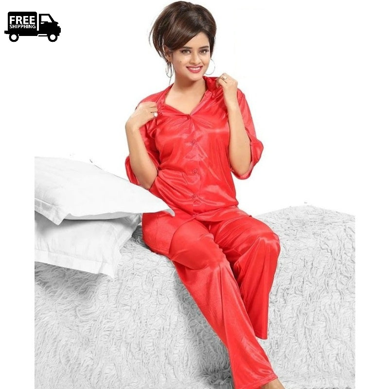 pajama set , women pajama , women nightdress , ladies nightdress , girls nightdress , wife nightdress , nightdress , nightdress pajama , silk pajama , bridal nightdress ,  free delivery , full lenght pajama , night suit , silk night suit , women's night suit , ladies night suit , girls night suit, luxury night suit, sleepwear , women sleepwear , girls sleepwear