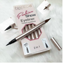 Load image into Gallery viewer, Naked 6 Eyeliner Tinted Eyebrow 2 In 1