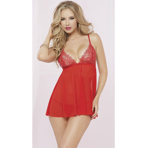 Women Wedding Bridal Lingerie Babydoll Nightie