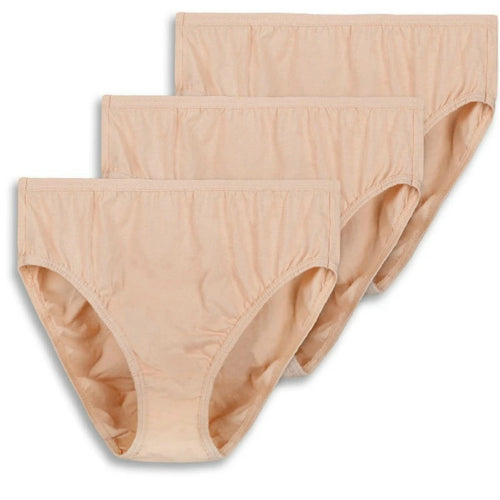 Pack of 3 High Cut Brief Plus Size Panties For Women