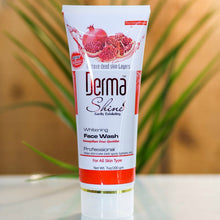 Load image into Gallery viewer, Derma Shine Pomegranate Whitening Face Wash-200g