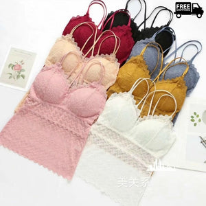 Pack of Lace Longline bra Comfortable & Stylish