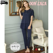 Load image into Gallery viewer, Short Sleeves Nightdress Comfortable Pj's For Women