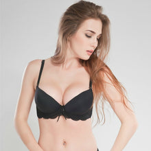 Load image into Gallery viewer, Seamless Double Padded Push Up Bra