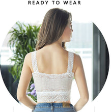 Load image into Gallery viewer, Women's Floral Lace Stretchy Tank Top Bra