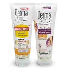 Load image into Gallery viewer, Pack of 2 Derma Shine Lightening Bleach Mask-200g