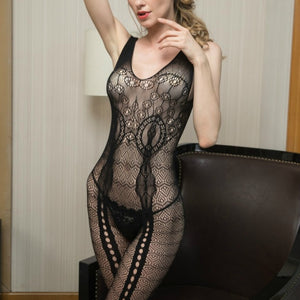 Women One Size Exotic Mini Dress Babydoll Bodystocking