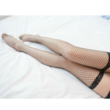 Load image into Gallery viewer, Women's Fishnet Thigh High Legs Stocking