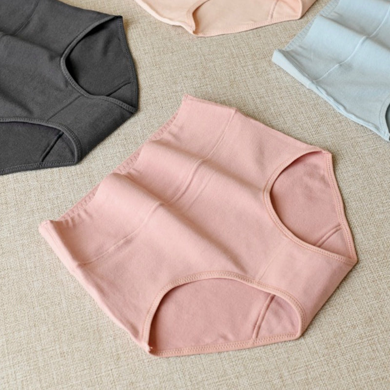 Pack of Women's High Soft Waist Underwear Panties