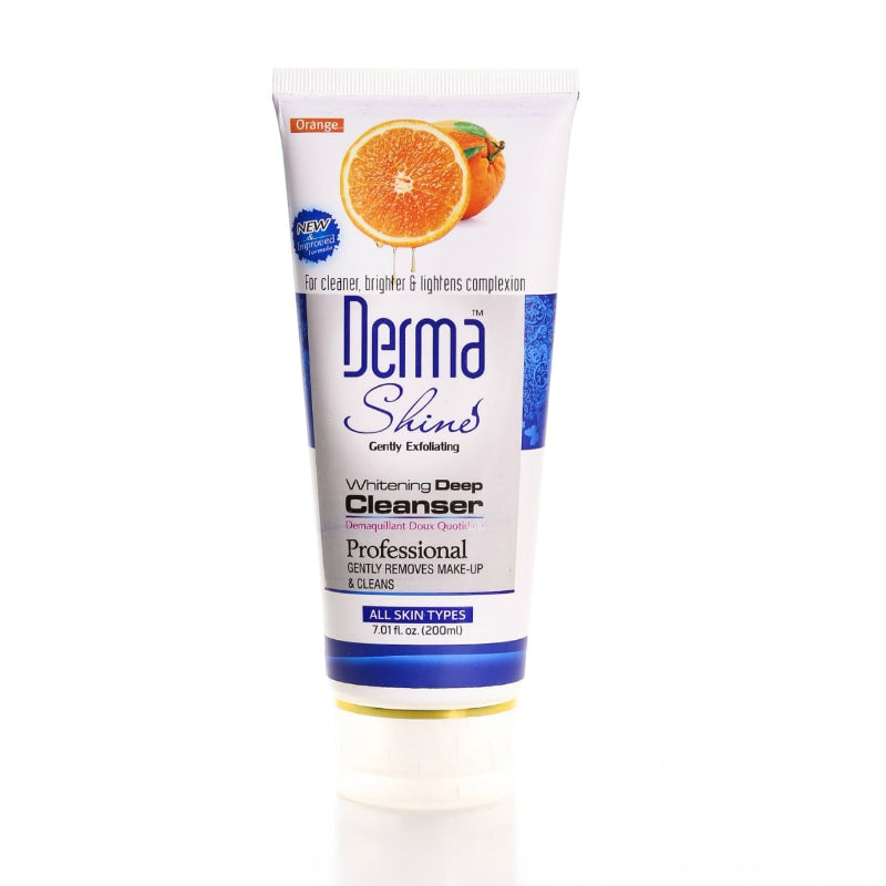 Derma Shine Orange Whitening Deep Cleanser -200g