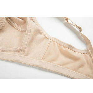 Women's Wireless Full Coverage Bra With Brief Pantie