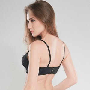Seamless Double Padded Push Up Bra