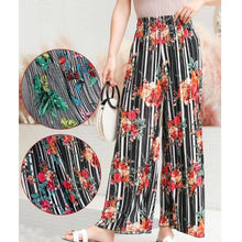 Load image into Gallery viewer, Floral Long Culottes Trousers Wide Fashion