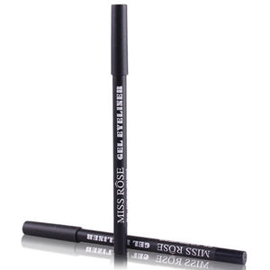 Miss Rose Gel EyeLiner Pencil Waterproof Long lasting Natural Quick Dry Black