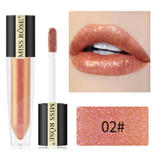 Load image into Gallery viewer, miss rose lip gloss glitter