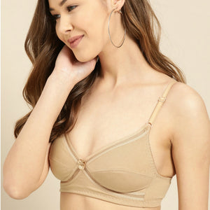 Wireless Non Padded Cotton Seamless Bra