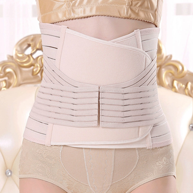 Postpartum Belly Wrap Recovery Belly Band Support Girdle Shapewear