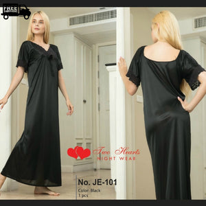 Silk full length Gown Nightwear and Loungewear