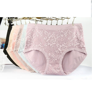 Pack of 2 Wide Waist Band Brief Panties For Women