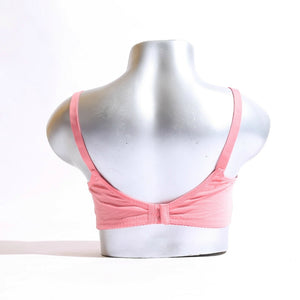 Lace Cups Cotton Band Non Wired Bra
