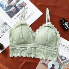 Load image into Gallery viewer, Pack of Women's Floral Lace Wireless Lace Bra