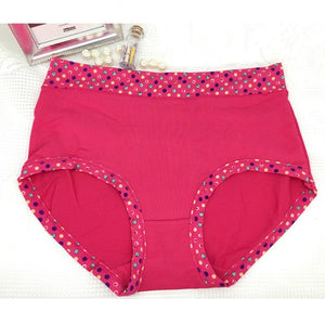 Multipack High Waist Cotton Full Coverage Ladies Panties