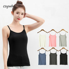 Load image into Gallery viewer, Pack of 3 Women's Camisole Spaghetti Strap Tank Top