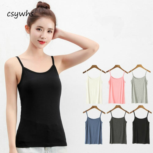 Pack of 3 Women's Camisole Spaghetti Strap Tank Top