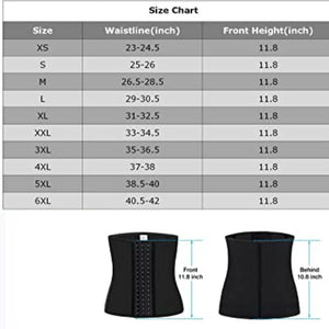 Women's Fast Slimming Latex Waist Trainer Corsets Body Shaper