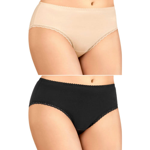 Packs of Seamless Cotton Brief Ladies Underwear